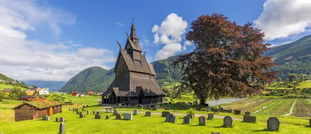 avrupa rüyası Kaupanger Stave Kilisesi