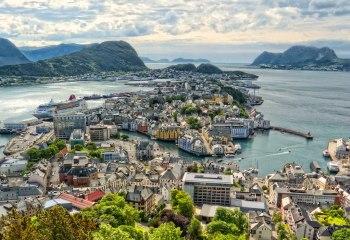 Norveç'te Doğa Harikası Bir Şehir Alesund