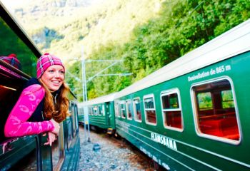 Flamsbana Treni İle Doğa Yolculuğu