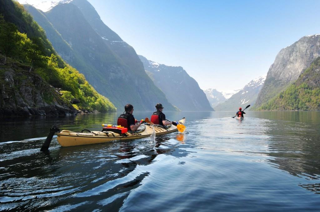 Norveç Kayaking