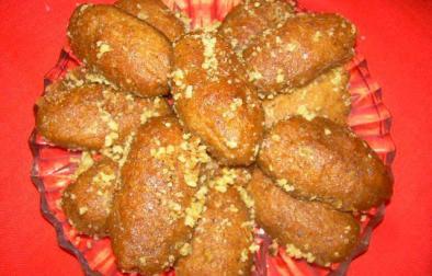 Biskota me mjaltë ( Melomakarona )