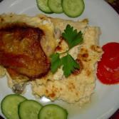 Tavë kosi me mish pule - Daniela Pepa - KuzhinaIme.al