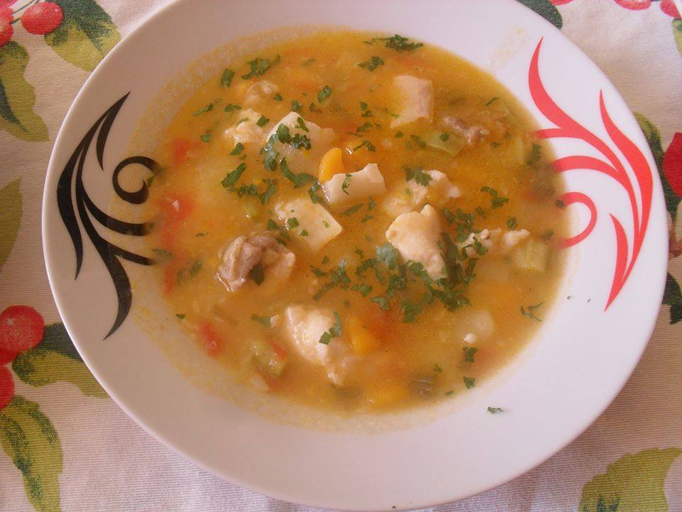 Supe me peshk