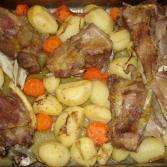 mish qingji me patate ne furre