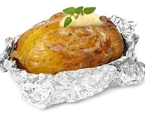 patate e pjekur ne leter alumin