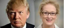 Дональд Трамп и Мэрил Стрип