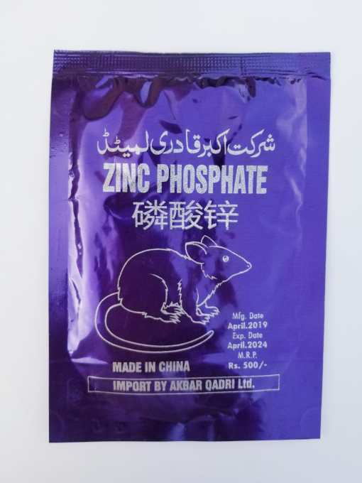 Zinc Phosphate Rat and Mouse Rodent Poison