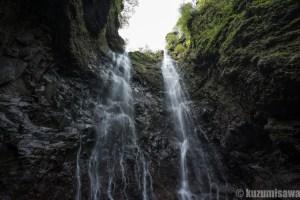 関東の轟双瀑 日光・三沢大滝・滝壺