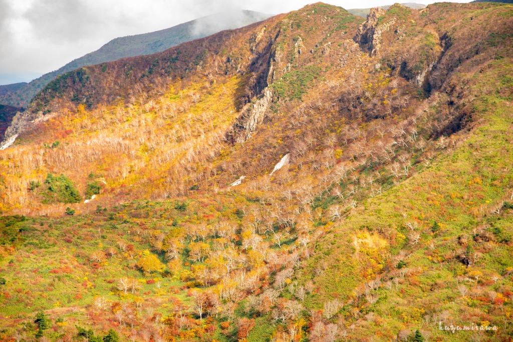 栗駒山の紅葉を見下ろすための秣岳縦走路 ~2017年・2018年~