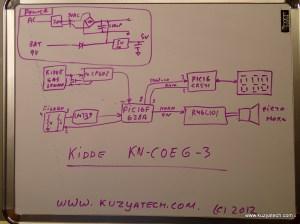 Kidde KNCOEG3 carbon monoxidegas alarm teardown | KuzyaTech