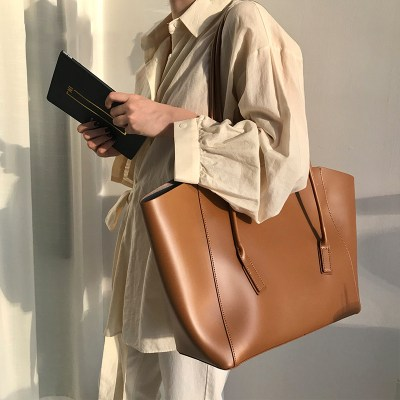 women Bag 2020 new trend large-capacity shopping simple bag student mother-in-law bag ladies handbag shoulder bag