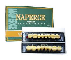 Зуби жувальні акрилові New Ace Naperce 8шт