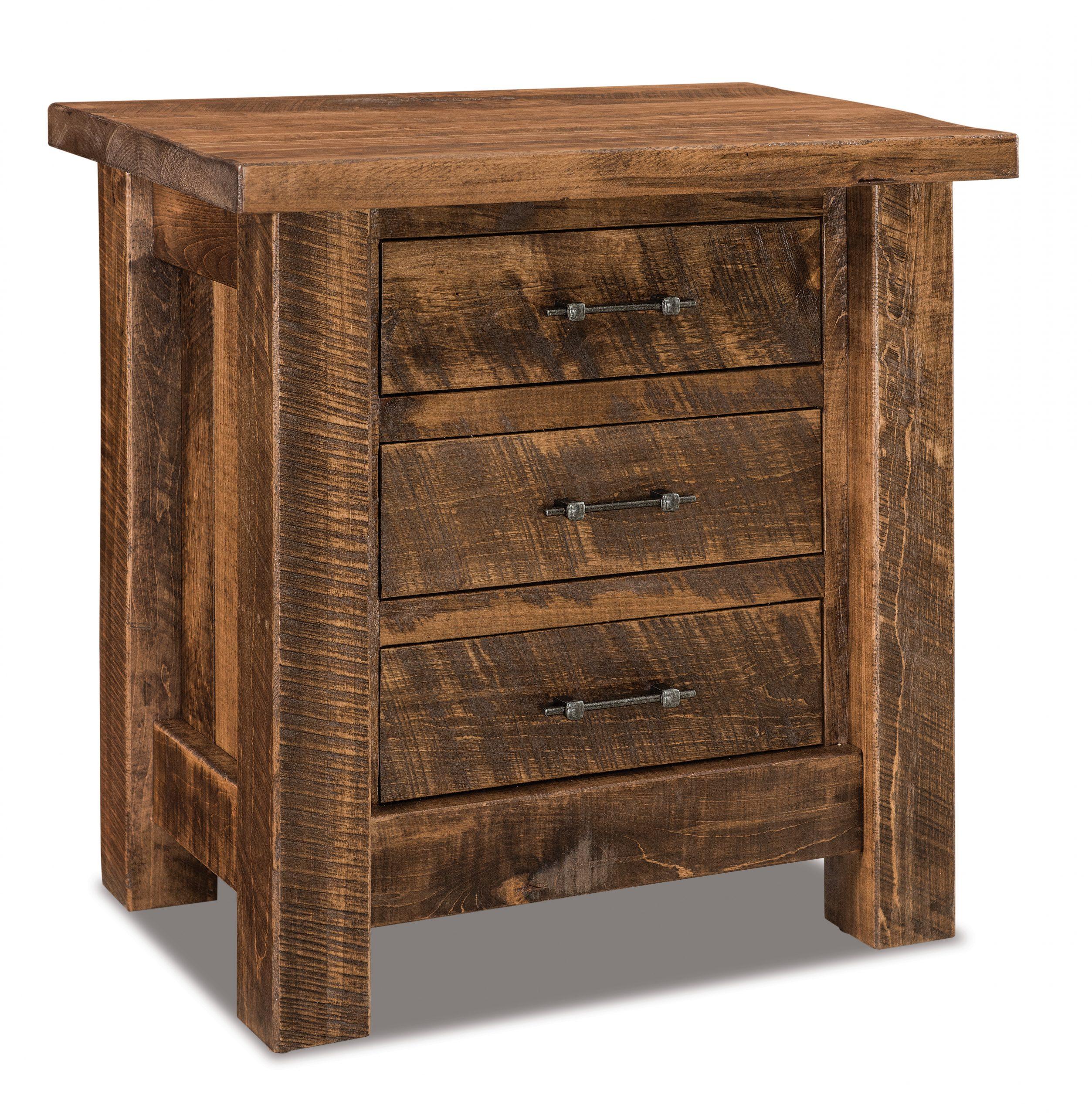 houston nightstands amish solid wood nightstands