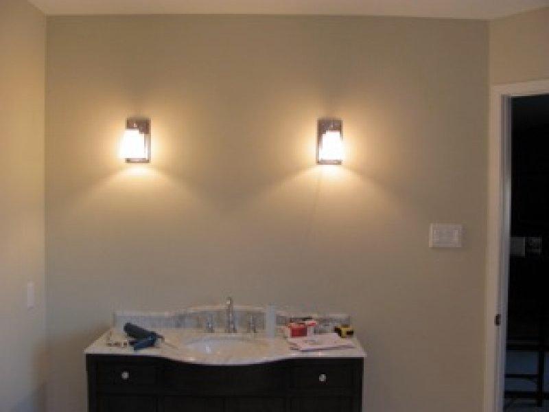 Bathroom Wall Sconces Installation Brampton-7