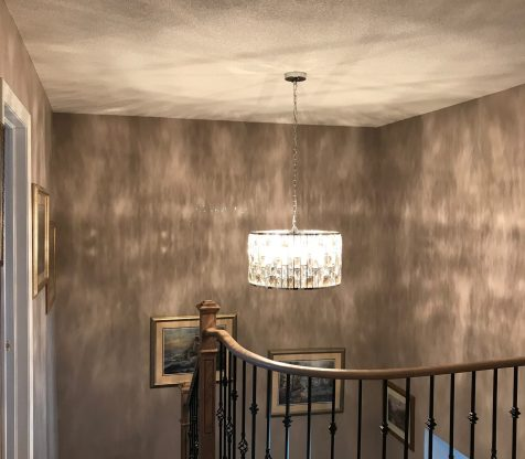 Chandelier Installation Woodbridge view 5