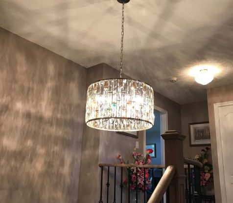 Chandelier Installation Woodbridge view 13