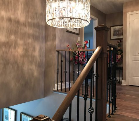 Chandelier Installation Woodbridge view 15