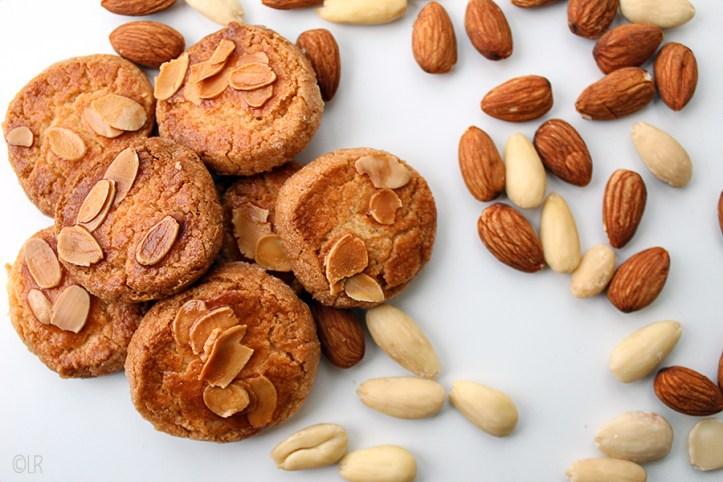 Heerlijk knapperige koekjes met een lekkere amandelsmaak.