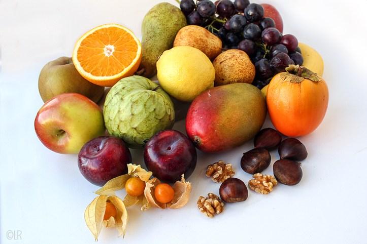 Een overvloed aan fruit in de herfst.