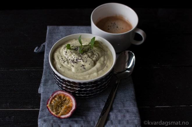 smoothie bowl oppskrift