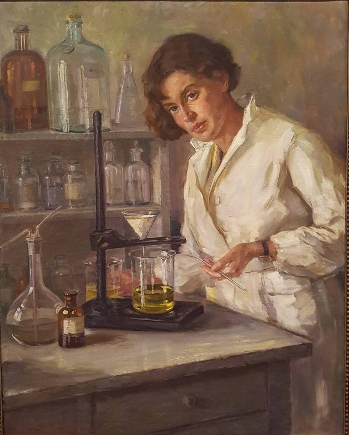 """Henrika Šantel, """"Kemičarka"""" (1932)"""