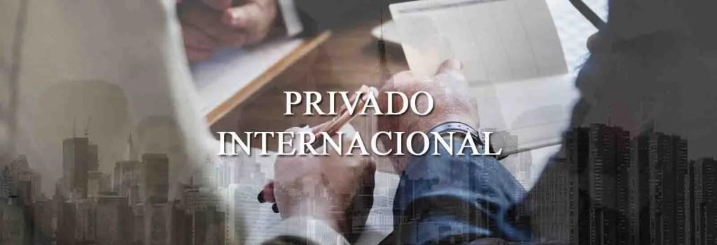 Internacional privado