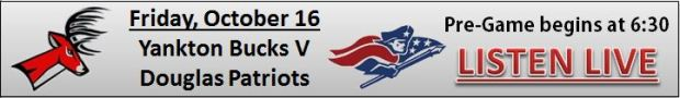 Yankton Bucks Football V Douglas