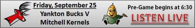 Yankton Bucks Football V Mitchell