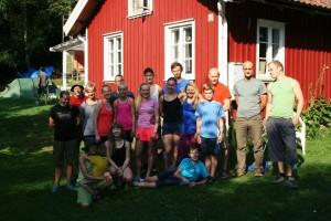 Bild från förra årets ungdomsläger i Bohuslän.  Foto : Moa Berglund