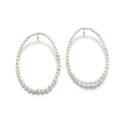 oval-drop-post-earrings-silver