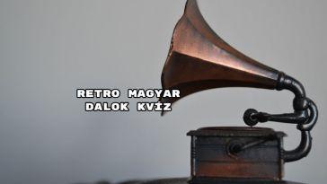 Íme egy újabb retro magyar dalos kvíz.