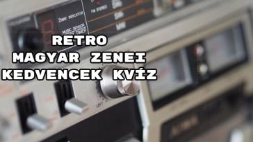 Itt van még egy retro magyar zenei kedvencek kvíz? - Mutatjuk a fejtörőket!