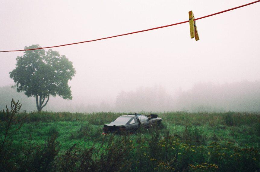 Old Car in Field Heard On Air Blog