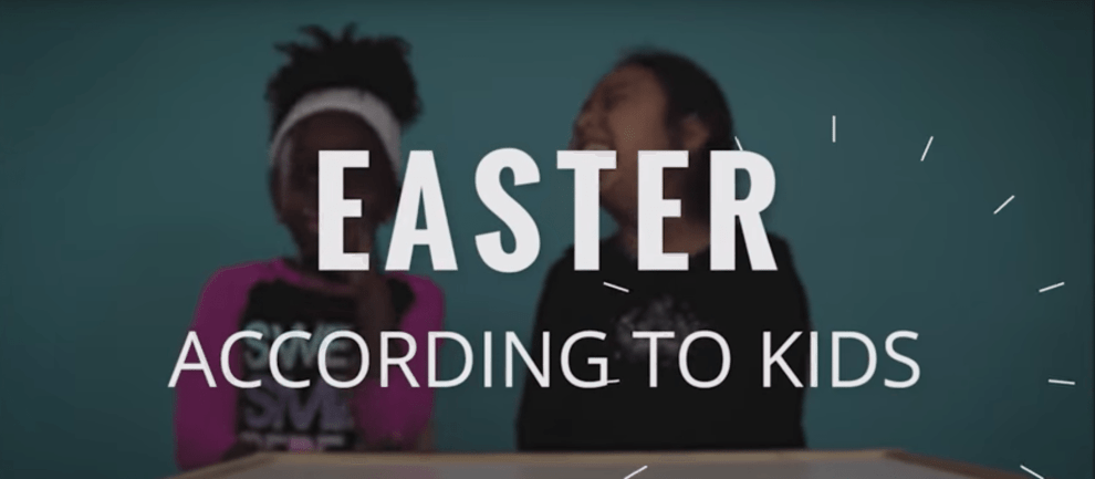 89.5 KVNE East Texas Christian Radio Easter According to Kids Heard On Air Blog