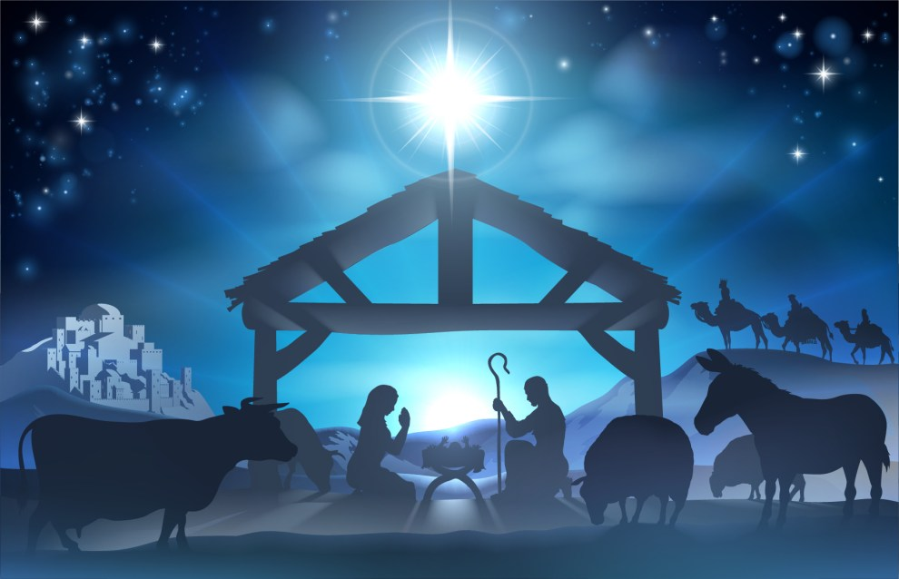 89.5 KVNE East Texas Christian Radio Christmas Blog Manger Scene