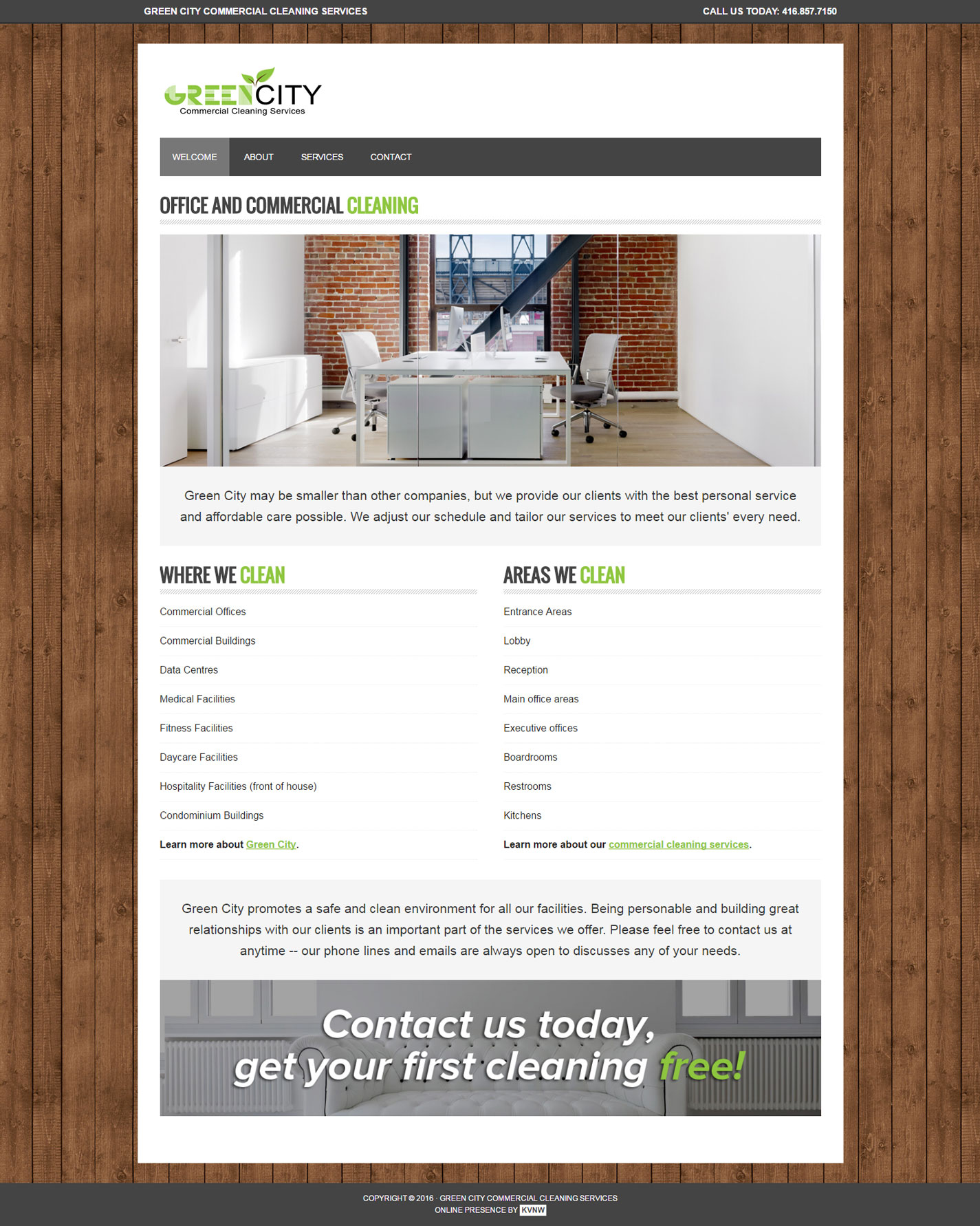 Green City Commercial Cleaning Services