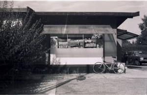 Den Røde Købmand på Inavej ca. 1976