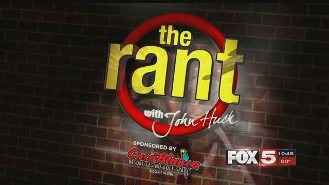 The Rant: May 25, 2017