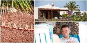 Business - Fotografie eines Coaches 3er-Collage für einen Mental-Coach auf Lanzarote