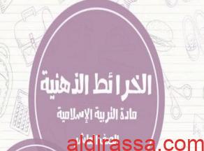 خرائط ذهنية اسلامية الصف العاشر الفصل الثاني ثانوية زينب بنت محمد