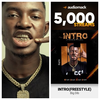 Big Dibs 'Intro' Music Hits Over 5K Streams In Just 3 Days On Audiomack