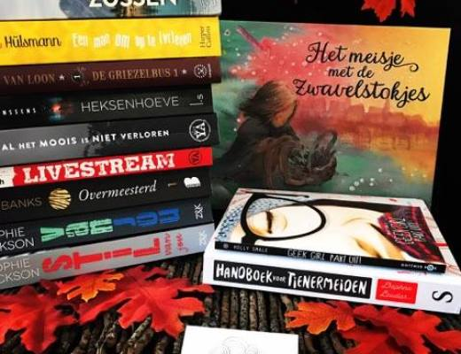 Wrap up & Book Haul 2017 ♥ September ♥