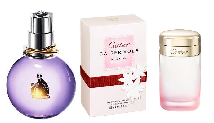Kobiece sensualne perfumy Cartier do ślubu