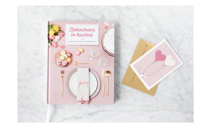 Zakochani w kuchni książka kucharska dla nowożeńców