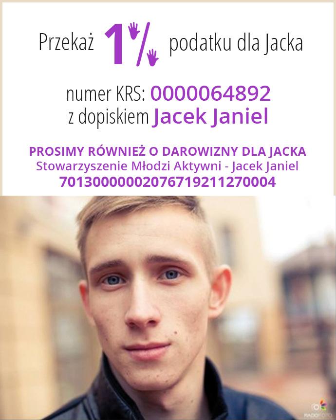 Akcja charytatywna dla Jacka Janiel