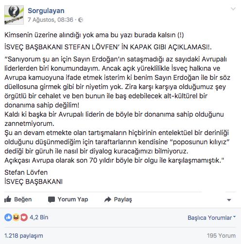 isvec-basbakani-lofven-erdogan-sozleri