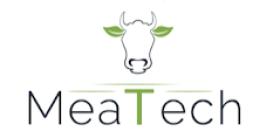 Israëlisch kweekvleesbedrijf Meat-Tech logo