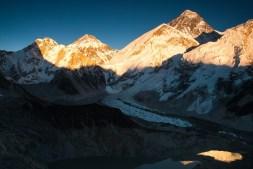 Widok na Everest Base Camp z Kala Patthar