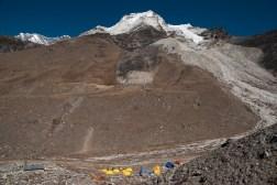 Baza pod Island Peak (6189m)