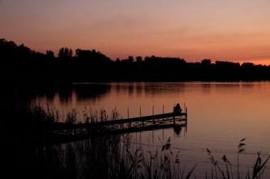 Jezioro Białe. Dobrze, że nie zarejestrowaliśmy dźwięku